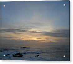 Pigeon Point Sunset Acrylic Print