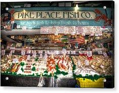 Pike Place Fish Company II Acrylic Print