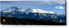 Pikes Peak Panorama Acrylic Print