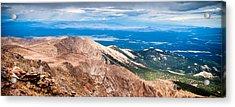 Pikes Peak Vista Acrylic Print