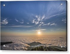 Pilchuck West 2 Acrylic Print by Charlie Duncan