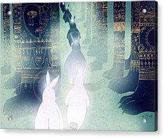 Pilgrimage Acrylic Print by Yoyo Zhao