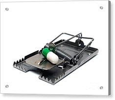 Pill Trap Acrylic Print