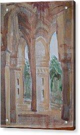 Pillar Of Faith Acrylic Print