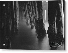 Pillars And Fog 1 Acrylic Print by Paul Topp