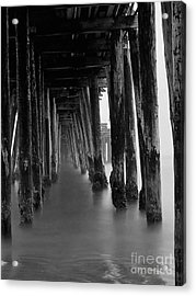 Pillars And Fog 2 Acrylic Print by Paul Topp