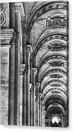 Pillars Arches Acrylic Print by Elizabeth Toller