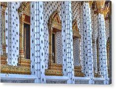 Pillars Acrylic Print by Michelle Meenawong