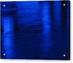 Pillars Of Blue Acrylic Print