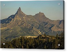 Pilot And Index Peaks Acrylic Print