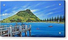 Pilot Bay Mt Maunganui 201214 Acrylic Print