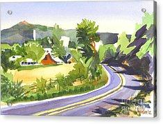 Pilot Knob Mountain Out Jj Acrylic Print by Kip DeVore