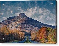Pilot Mountain Acrylic Print