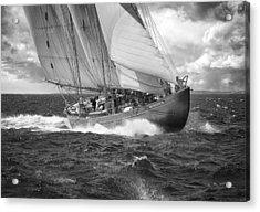 Pilot Schooner Virginia Acrylic Print