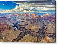Pima Point Sunset - Grand Canyon National Park Photograph Acrylic Print by Duane Miller