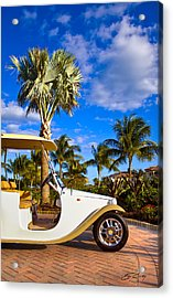 Pimp My Golf Cart Acrylic Print