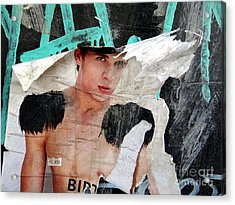 Pin Up Boy Acrylic Print by Ed Weidman