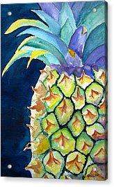 Pineapple Acrylic Print by Carlin Blahnik