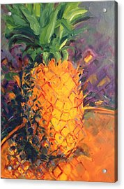 Pineapple Explosion Acrylic Print