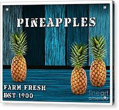 Pineapple Farm Acrylic Print