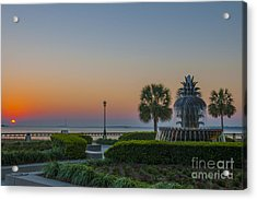 Acrylic Print featuring the photograph Dawns Light by Dale Powell