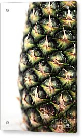 Pineapple Half Acrylic Print by John Rizzuto