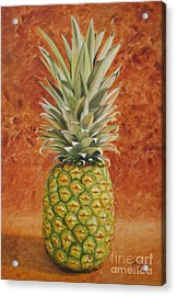 Acrylic Print featuring the painting Pineapple  by Jimmie Bartlett