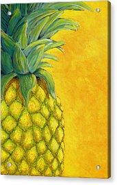 Pineapple Acrylic Print by Karyn Robinson