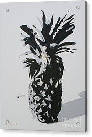 Pineapple Acrylic Print by Katharina Filus