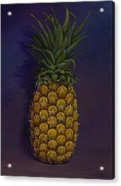 Pineapple Merlot Acrylic Print