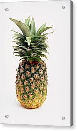 Pineapple Acrylic Print by Ron Nickel