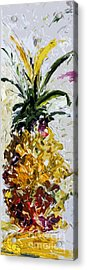 Pineapple Triptych Part 2 Acrylic Print by Ginette Callaway