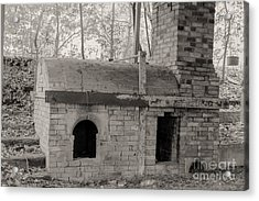 Pinewood Pottery Kiln Acrylic Print by Russell Christie