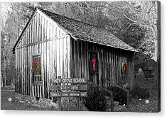 Piney Grove Christmas Acrylic Print by Jessica  st Lewis