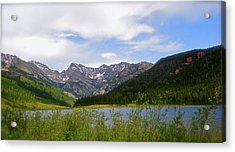 Piney Lake In Upper Vail Acrylic Print