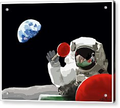 Ping Pong 1969 Acrylic Print by Seth Deter