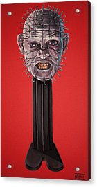 Pinhead Acrylic Print by Brent Andrew Doty