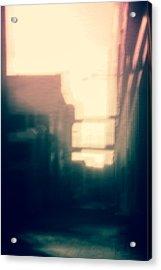 Pinholed Cityscape  Acrylic Print