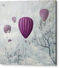 Pink Balloons Acrylic Print