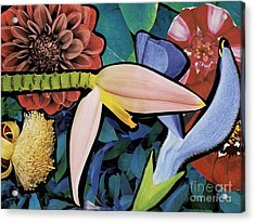 Pink Bloom Acrylic Print by Susan Sorrell