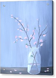 Pink Blossoms Acrylic Print