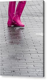 Pink Boots 1 Acrylic Print