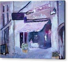 Pink Cafe II Acrylic Print