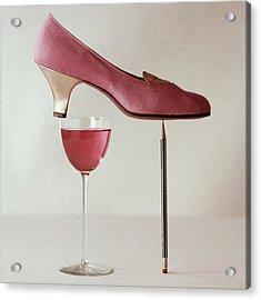 Pink Capezio Pump Acrylic Print