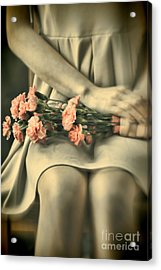 Acrylic Print featuring the photograph Pink Carnations by Craig B