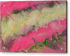 Pink Champagne Acrylic Print