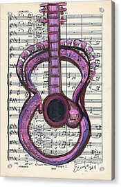 Pink Classical Funk #75 Acrylic Print