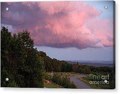 Pink Cloud Acrylic Print by Randi Shenkman