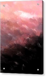Pink Clouds Acrylic Print