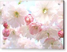 Pink Acrylic Print by Deena Otterstetter